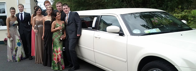 Limo Hire Dublin - Debs Nights