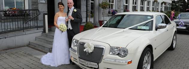 White Baby Bentley Limo